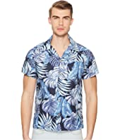 Naked & Famous - Tropical Leaves Shirt