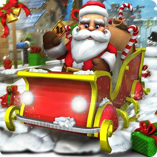 Virtual Santa Claus Simulator 3D: Geschenk Lieferung Frenzy Adventure Mission Spiel kostenlos für Kinder 2018