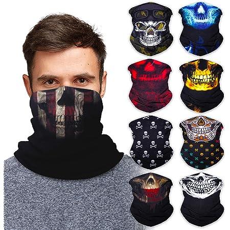 Neck Gaiter Face Mask Bandana Neck Gators Face Coverings for Men & Women I Neck Gator Masks