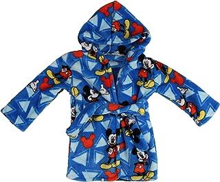 Disney Mickey Mouse Flannel Fleece Robe, Blue