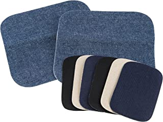 SINGER 00382 Peel and Stick Patches, Twill and Denim Combo Pack