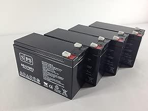 12V 7Ah (From SPS) Liebert UPStation GXT UPS Replacement Battery (4 Pack)