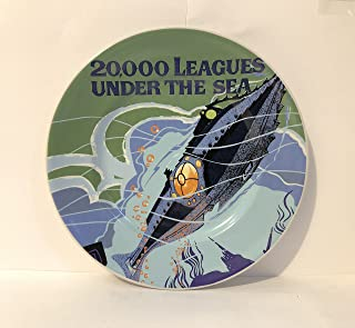 Disney Parks Classic Poster Plate 20,000 Leagues Under The Sea 7