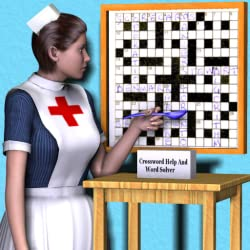cheap Crossword puzzle solver