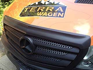 Terrawagen TWS22-Sprinter Hood Spoiler Armor for Mercedes-Benz and Freightliner Sprinters