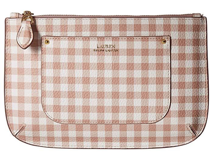 LAUREN Ralph Lauren Belt Bag (Mellow Pink Gingham) Women