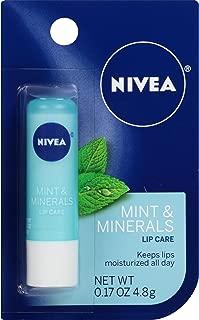 NIVEA Mint & Minerals Lip Care 0.17 oz (Pack of 6)