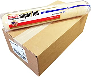 Wooster Brush R241 18 inch Super/Fab 3/4 inch Nap Roller Cover - Pack of 6