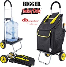 Bigger Trolley Dolly Sunflower Shopping Grocery Foldable Cart