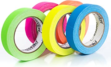 Gaffers Tape | USA Quality Gaffer Tape | 5 Bright Colors | 1 Inch x 20 Yards | by Gaffer Power