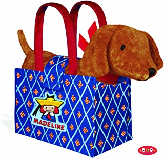 Yottoy - Genevieve Puppy Dog Plush in Madeline Tote Bag, 9
