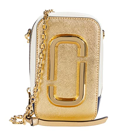 Marc Jacobs The Hot Shot Shoulder Bag (Gold Multi) Shoulder Handbags
