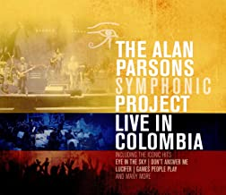 alan parsons live in colombia dvd