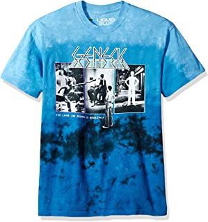 Liquid Blue Genesis The Lamb Lies Down Tie Dye Short Sleeve T-Shirt
