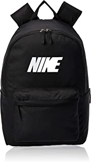 Nike Unisex' Heritage Block Backpack, Black/White