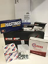 Engine rebuild Kit Rings & Pistons & Timing & Oil Pump & Bearings & Gaskets compatible with 1981-85 Chevy 305 5.0L TRUCK