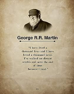 Best a reader lives a thousand lives poster Reviews