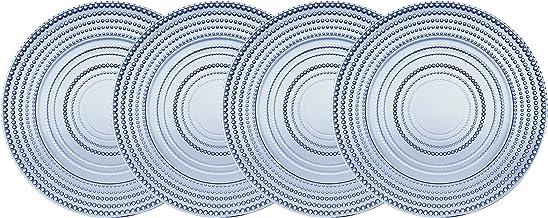 طقم أطباق تقديم الحلوى من جودينجر سلطة - لومينان، ازرق، مجموعة من 4 قطع