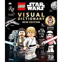 LEGO Star Wars Visual Dictionary New Edition: With exclusive Finn minifigure Hardcover