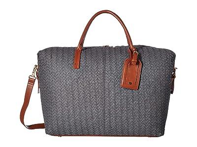 SOLE / SOCIETY Jera Weekender (Grey) Handbags