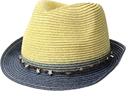 UBF1099 Ultrabraid Fedora w/ Star Trim