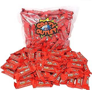 CrazyOutlet Pack - Kit Kat Miniatures Crisp Wafers Milk Chocolate Candy Bar Bulk, 2 lbs