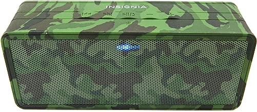 Insignia Portable Bluetooth Speaker (NS-SPBTBRICK-CM) Camo – New