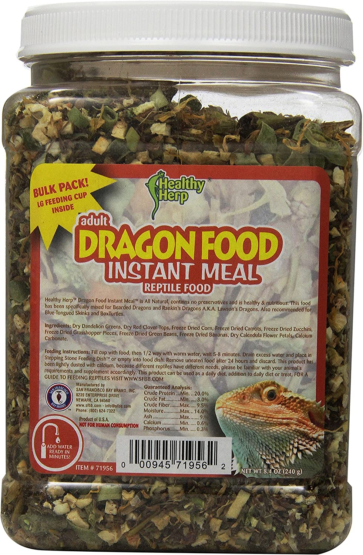 San Francisco Bay Brand SSF71956 Instant Meal Bearded Dragon Mix