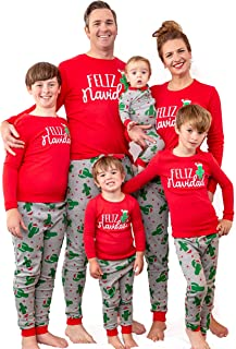 MJC International Family Matching Christmas Pajama Sets - Sizes for All Ages!