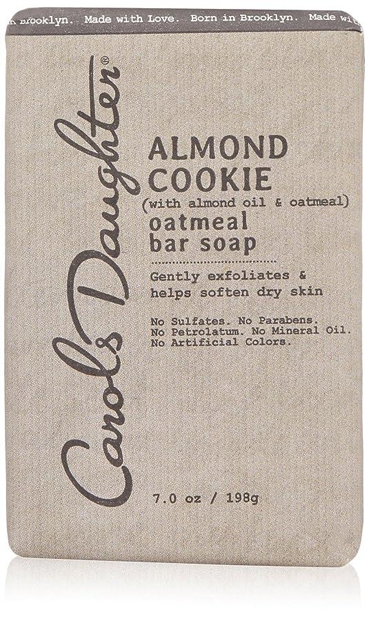 視力考古学ビットキャロルズドーター Almond Cookie Oatmeal Bar Soap 198g/7oz並行輸入品