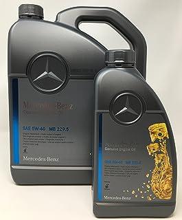 Mercedes originele motorolie Benz 229.5, 5W40 6 liter