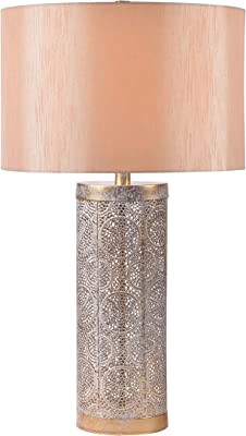 Kenroy Home 34048GLD Ibis Lamps, White Washed Gold