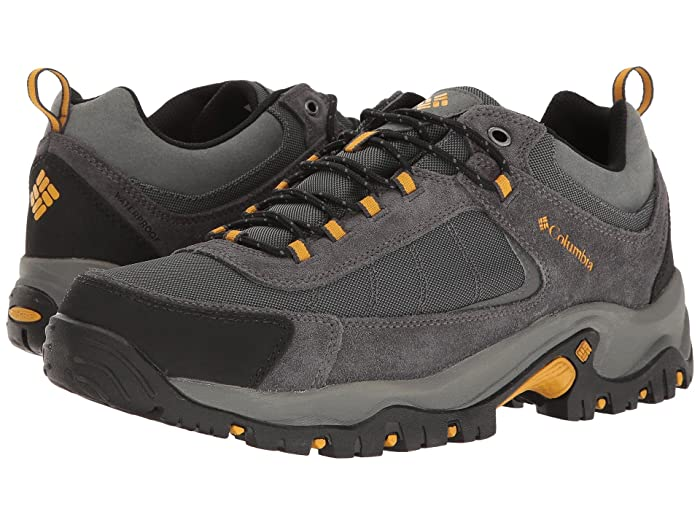 Columbia  Granite Ridge Waterproof (Dark Grey/Golden Yellow) Mens Shoes