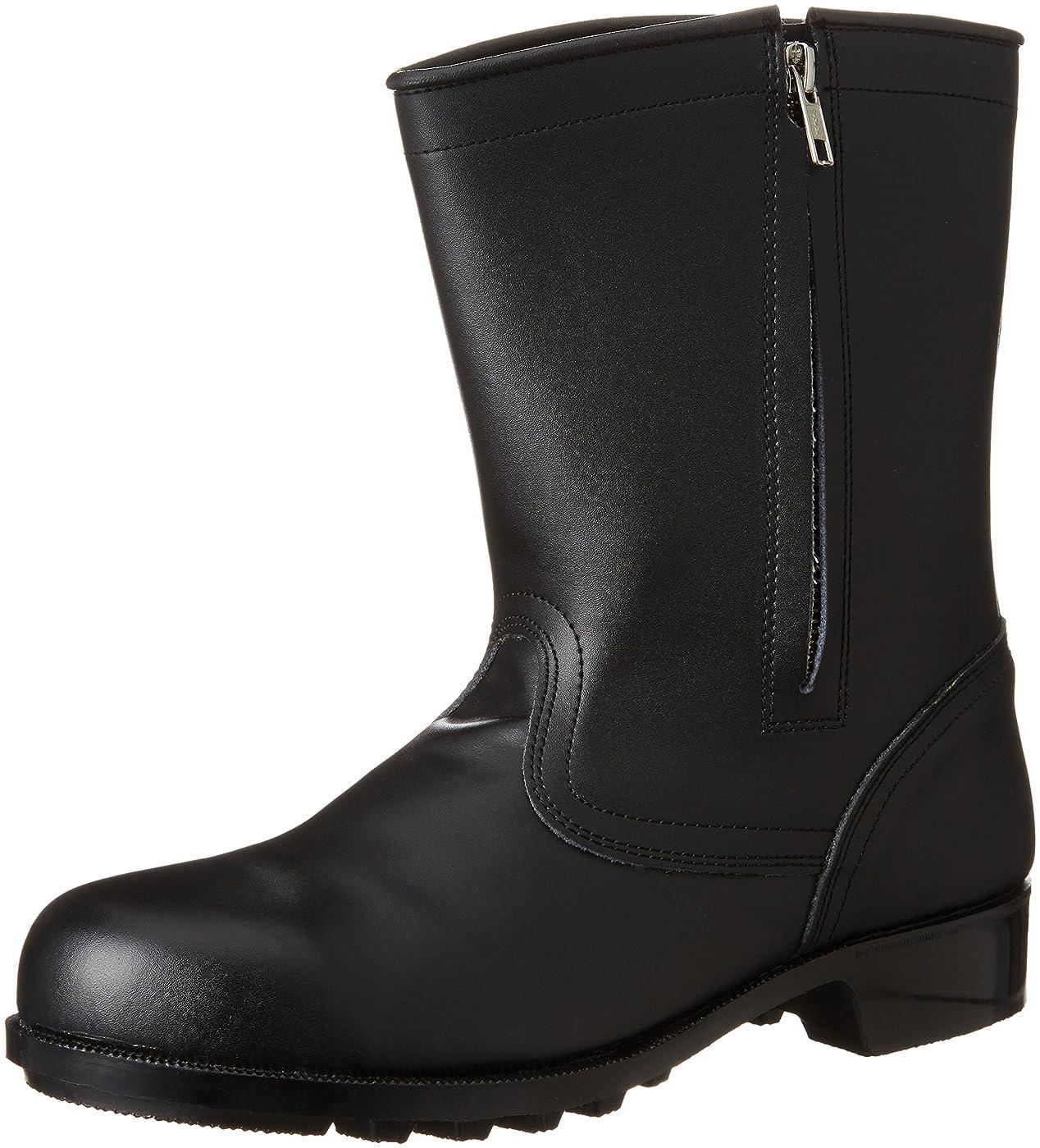 [エンゼル] 普通作業用安全靴 半長チャック付 CH311 6B041 メンズ