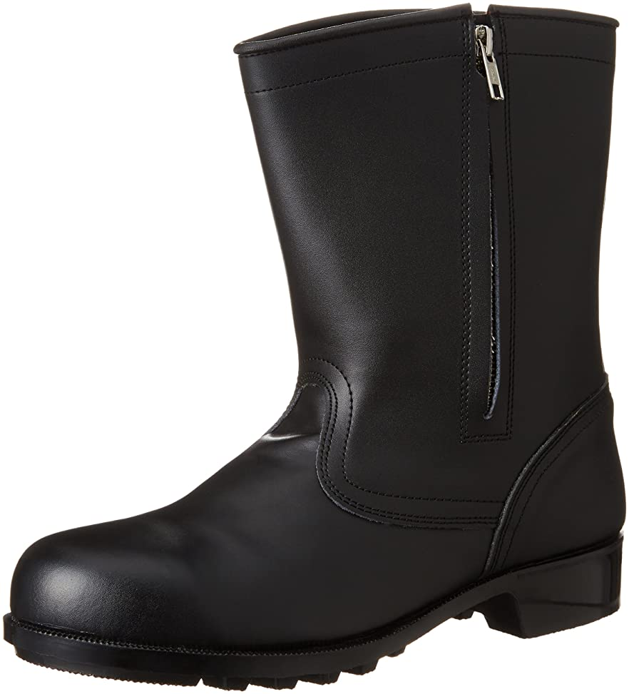 廃棄する重大神経衰弱[エンゼル] 普通作業用安全靴 半長チャック付 CH311 6B041 メンズ