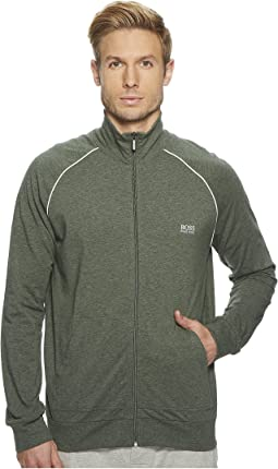 Stretch Cotton Zip Jacket