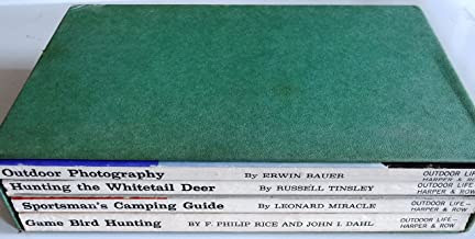 Outdoor Life Skill Books - 4 volumes in slipcase: Hunting the Whitetail Deer, Sportsman's Camping Guide, Game Bird Hunting, Outdoor Photography