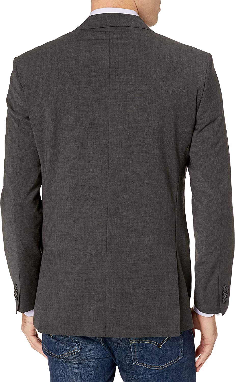 Kenneth Cole New York Men's Performance Stretch Wool Suit Separates-Custom Top and Bottom Size Selection