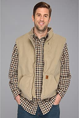 Carhartt - Big & Tall Sandstone Mock Neck Vest