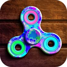 Laser Fidget Hand Spinner Simulator: Neon Switch | Hand Toy Virtual Spinner Swiping and Floating Game