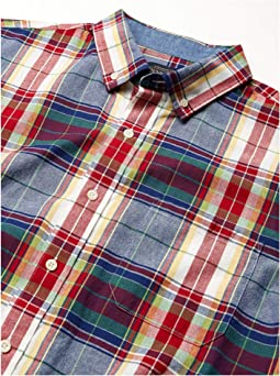 Blue/Red Multi Plaid