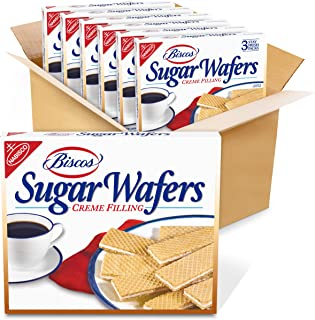 Biscos Creme Filled Sugar Wafers, 6 - 8.5 oz Boxes