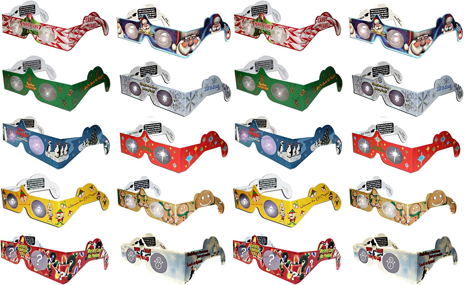 Holiday Specs 3D Glasses-Magical 2021new shipping free shipping will appear befo images Max 81% OFF