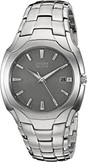 Men's Eco-Drive Stainless Steel Watch