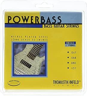 Thomastik-Infeld EB344 Bass Guitar Strings: Power Bass 4 String Magnecore Set G, D, A, E Set
