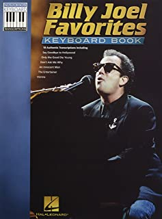 Billy Joel Favorites Keyboard Book (Note-For-Note Keyboard T
