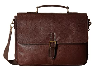 Scully Mason Workbag Brief (Brown) Briefcase Bags