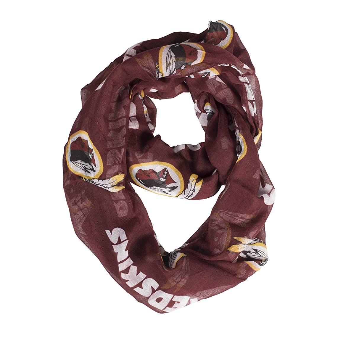 Littlearth NFL Womens NFL Sheer Infinity Scarf