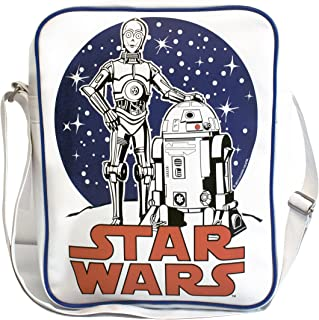 Logoshirt C-3PO R2-D2 Sac bandoulière - Sac de sport - Star Wars - La Guerre des étoiles - Design original sous licence