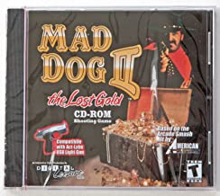 Mad Dog II the Lost Gold CD-ROM Shooting Game